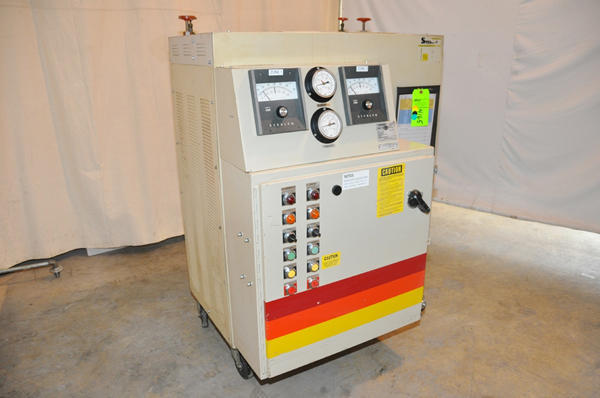 Picture of Sterlco Dual (two) Zone Portable Hot Oil Process Heater Temperature Control Unit DCMP-4165
