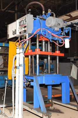 Picture of Kard Trim Press TP 30-4 Four Column (Post) Vertical Hydraulic Die Casting Trim Press For Sale DCMP-4198