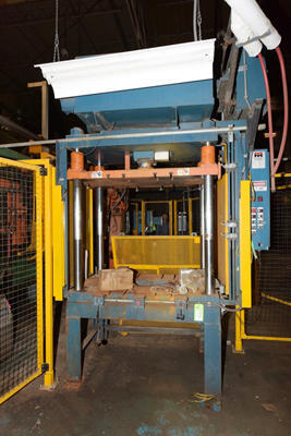 Picture of Metal Mechanics 40 Four Column (Post) Vertical Hydraulic Die Casting Trim Press For Sale DCMP-4210