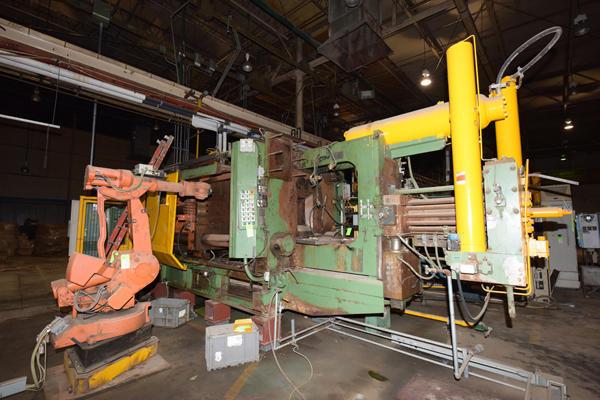 HPM II-900-A Cold Chamber Aluminum Die Casting Machine