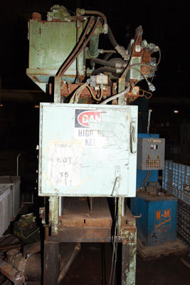 Image of Four Column (Post) Vertical Hydraulic Die Casting Trim Press For Sale DCM-4219