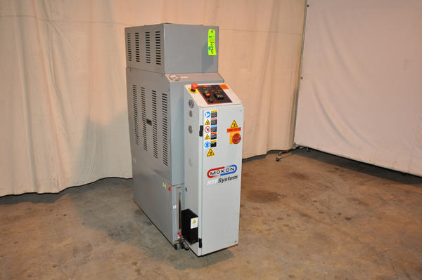 For Sale: One Used Mokon 24 KW Single Zone Hot Oil Temperature Control Unit