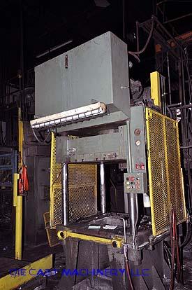 50 ton, 4-Post Hydraulic Trim Press used 1