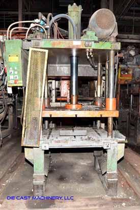 Die Cast Press Trim Press -  30 Ton Four Column (Post) Vertical Hydraulic Die Casting Trim Press,  Controls used 1