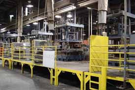 Kurtz - AL 13-13 TC 1313  Vertical Low Pressure Permanent Mold Aluminum Die Casting Machine, PLC Controls used 1