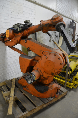 ABB Six Axis Foundry Rated Industrial Robot