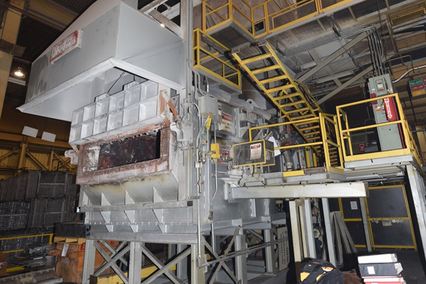 Modern Equipment Tower Type Melting Furnace