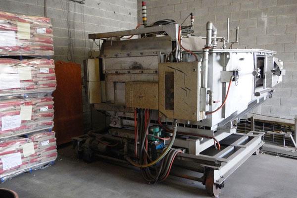RDC Natural Gas Heated Aluminum Holding Furnace