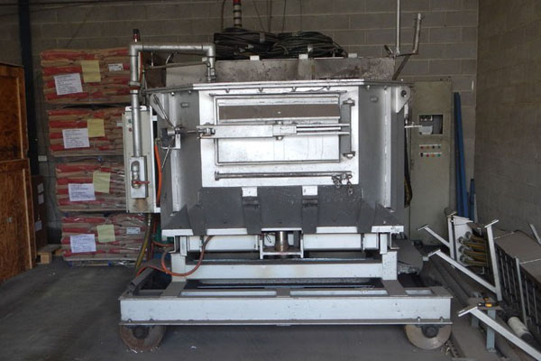 Striko Westofen Electric Heated Holding & Dosing Furnace