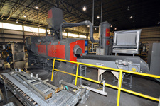 Rosler Continuous Through Feed Tumble Blast Machine