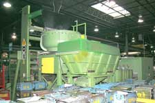 Walther Trowel Vibratory Finishing Machine