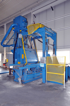 Wheelabrator Tumble Blast Machine