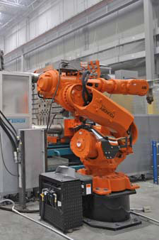 ABB Model IRB 4400 6 Axis Foundry Robot