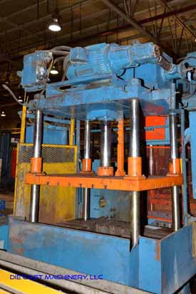 Metal Mechanics Four Column Vertical Trim Press
