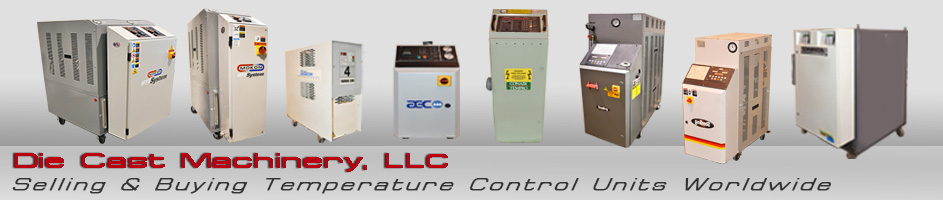 Used Hot Oil Temperature Control Units For Sale, Sterlco, Mokon, Regloplas, Robamat, AEC, Tool-Temp, Advantage